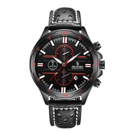 Free shipping luxury mens watch red face black strap watch Day-date movement AAA mens Watches