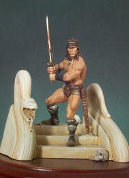 Promotion la figure conan Vente en gros - Livraison gratuite 1/32 Scale Resin Figure Barbarian Conan