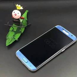 Wholesale S7 Edge cell phone Goophone S7 edge phones inch G LTE Show G MTK6582 Quad Core RAM G ROM GB Show GB Camera MP VS I7 Plus