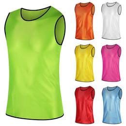Acheter en ligne Services de l'équipe-Hommes et Femmes Football Basketball Training Vest Confrontation Service Suit Suit de formation Vest Team