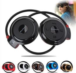 Universal Top Quality New Mini 503 Neckband Sport Wireless Bluetooth Handsfree Stereo Headset Headphone Smartphone Earphone for Mp3 Player