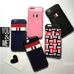 Wholesale Mobile Phone PU Leather Hard Card Back Cover Case and credit card holds best quality case for Iphone and Sumsang note