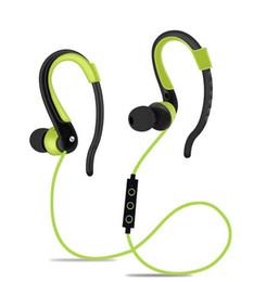 2017 mains libres universel Sport Mains libres Bluetooth dans l'écouteur d'oreille Casque sans fil Casque d'oreille portatif avec micro mains libres universel sortie