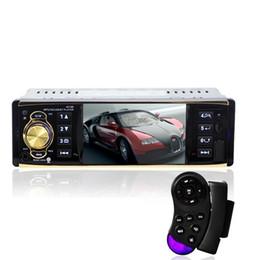 2017 el jugador del sd para la televisión 4.1 pulgadas en el tablero de coches de audio reproductor de vídeo HD Digital Car MP5 jugador de radio FM Bluetooth con USB SD AUX Interfaces interfaz de menú el jugador del sd para la televisión Rebaja