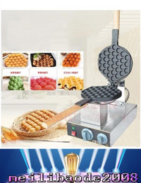 Wholesale NEW With CE Certification v v HongKong Egg Waffle Makers Machine Egg Puffs Maker Bubble Waffle Buy machine free get more gifts MYY