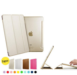 Smart Cover Magnetic pu leather Case For Ipad air 1 2,ipad mini 2 4,ipad pro 9.7