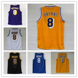Wholesale Top Quality Los Angeles Kobe Bryant jersey Cheap Men s Stitched Throwback Kobe basketball jersey Embroidery Logo