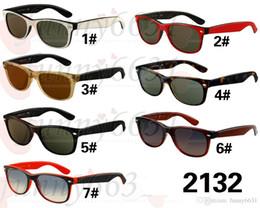 Gafas de diseño fresco en Línea-Gafas de sol del mens de las gafas de sol de las gafas de sol de las gafas de sol de las gafas de sol de los gafas de sol del diseñador del VERANO que conducen los vidrios que montan el espejo del viento