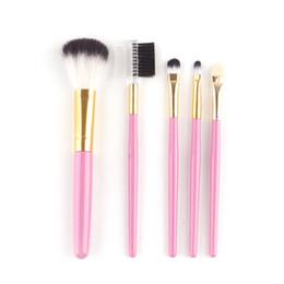 Makeup Brushes Make Up Brushes Set Kits Eyelash Brush Blush Brushes Eye-shadow Brush Sponge Sumudger 5pieces Make Up Tools 0605001