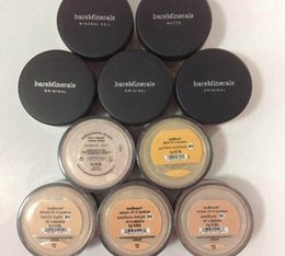 Wholesale SPF15 Foundation Minerals original Foundation loose powder g C10 fair g N10 fairly light g medium C25 g medium beige N20 g mineral veil