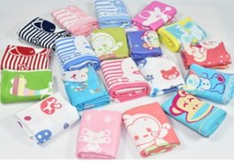 32 strands of pure cotton jacquard cartoon art three layers of gauze the infant child baby children towel towel child-towel wholesale