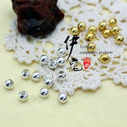 Vente en gros 2000pcs bijoux en argent accessoires accessoires fer bracelet collier perle 5mm perles alliage pendentif charmes ronde Drop shopping charm shops deals à partir de boutiques de charme fournisseurs
