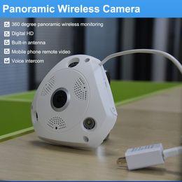 HD 960P 3D VR CCTV WIFI IP Camera Wi-Fi Fisheye Lens Night Vision Surveillance Panorama Security Wireless Camera IP 360 Degree