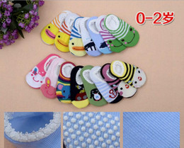 Wholesale Children Socks Wholesale Floor - Candy color baby cotton socks cheap children spring & autumn cartoon socks 0-2 years children skid floor socks 20pair B3