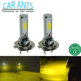 CAR ANTS CREE COB 30W 1400LM Fog lights H7 G-series 12V 24V auto parts super bright OEM ODM lighting bulbs car lamp Nonpolarity plug-n-play