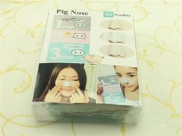 Wholesale news Beauty Care Face Care Nose Herbal Blackhead Remover Mask Face Pore Strip Facial Minerals Nose Black Head Cleaner C043