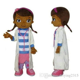Wholesale 2017Sell like hot cakes Custom made Doc McStuffins mascot costume party costumes fancy animal character mascot dress amusement park outfitt