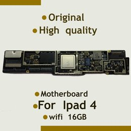 Wholesale For Ipad Motherboard Mainboard WiFi Version Original Unlocked quality GB install IOS System With Full Chips