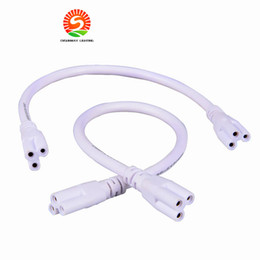 2016 New arrive 2ft 3ft 4ft 5ft Cable for Integrated T8 T5 led tubes lights Connector