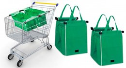 Wholesale Original Insulated Grab Bag Hot Cold Reusable Authentic Clip To Cart Tote Lbs Grocery Multifunctional Non woven Supermarket Shopping bag