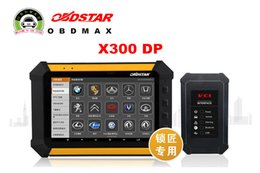Wholesale OBDSTAR X300 DP PAD Tablet Key Programmer Full Configuration Immobilizer odometer Adjustment EEPROM PIC Adapter OBDII ABS