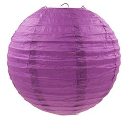 10 Pieces 6 Inch 12 Colors Round Chinese Paper Lanterns For Wedding and Party Decoration Hanging Paper Balloon
