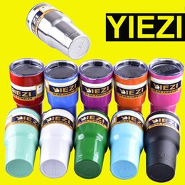 Wholesale yiezi oz oz oz oz Rambler Tumbler Bilayer Insulation Cups Cars Beer Mug Large Capacity Mug Tumblerful DHL OTH242
