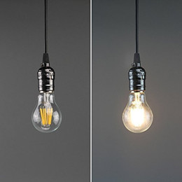 Projecteur clair en Ligne-Vintage LED Filament Bulb A19 - 10W LED Ampoule LED, Medium Screw E26 Base, Clear Soft White 2700K, LED Edison Bulb 100W Equivalent, 120VAC,