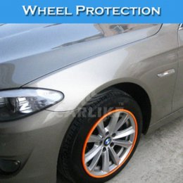 Wholesale Orange Color Automobiles amp Motorcycles Best Selling Car Accessorieswheel Rim Protection Sticker eyelet grommet