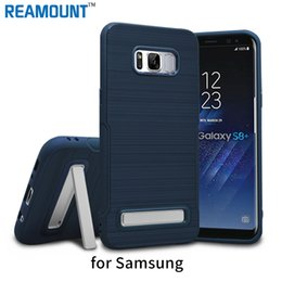 Wholesale Luxury Hard TPU Kickstand Case for Samsung s8 s8 plus protective TPU Back Cover for Samsung S7 S7 edge