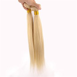 Wholesale #613 bleach Blonde Brazilian Virgin Hair Extension 2pcs 200g lot 100% Remy Human Hair Top Qulaity hair extension