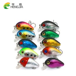 Canada HENGJIA 500pcs 3CM 1.5G PETITE pêche de crankbait appât dur wobblers de pêche d'appât 10 # crochets isca artificiel 3d fishing Le leurre du Japon supplier crankbait fishing lures small Offre