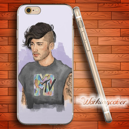 Capa Zayn Malik Soft Clear TPU Case for iPhone 7 6 6S Plus 5S SE 5 5C 4S 4 Case Silicone Cover.