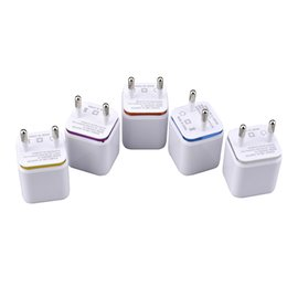 Colorful 2A+1A US EU Plug AC Power Adapter Home Travel Wall Charger 2 port dual USB Fast Quick Charging for iPhone 5 6 7 for Samsung S8 S7 6