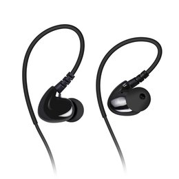 Wholesale Mixcder SH302 Hybrid Dual Drivers In Ear Wired Earphone Noise Canceling Super Bass HiFi Earphones with Memory Wire Drivers