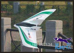 Wholesale Venta al por mayor EPO avión RC avión PFV TOY WINGSPAN pulgadas FLY WING nueva versión FX conjunto de kit no radio motor servo battery charger