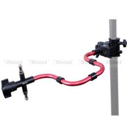 Acheter en ligne Éclairage de la rampe-Bracelet Super Strong pour Trépied Photo Studio Light Stand Boom + support photographique Support de caméra Support Flash Bracelet Magic Serpent