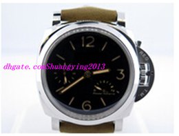 Wholesale Factory Supplier Luxury Wristwatch Day Day Power Reserve Black Dial Automatic Mens Men s Watch Watches Pam423