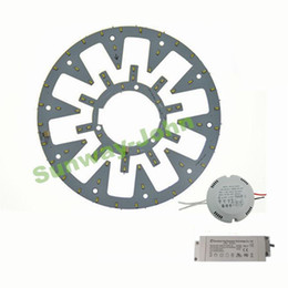 Wholesale New LED Circle PANEL Light round circular Ceiling lamp SMD LED board Watt W W W w w AC85 V CE UL driver Magnetic