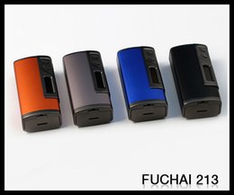 Wholesale ORIGINAL Sigelei Fuchai TC Box Mod W Celsius based TCR calculation with inch OLED Screen