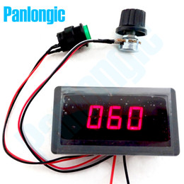 Digital Display Led 6V 12V 24V 6A 8A PWM DC Motor Speed Controller Variable Speed Regulator Free Shipping
