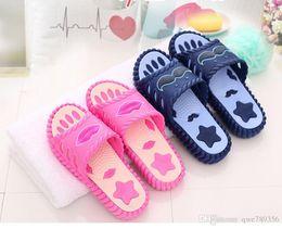 couple flip flops slippers summer bathroom eva CANDY COLOUR