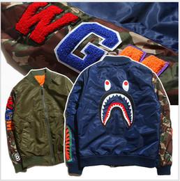 Wholesale Mens Sportwear Coat Jogger Tracksuit Pullover padded Jackets Crewneck Bird OVO Drake Black Hip Hop baseball MLB Hoodie Men Shark mouth print