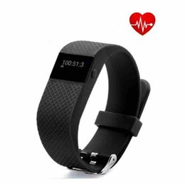 Acheter en ligne Mi bracelet de bande-TW64s smart bande moniteur de fréquence cardiaque Fitness Wristband Smart Call Alert pour IOS android PK fitbit PK mi bande 2 nouveau bracelet intelligent