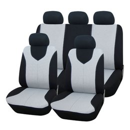 Wholesale High Quality Universal Protect set Car Seat Cover Full Seat Covers for Car Crossovers Auto Interior Styling Decoration