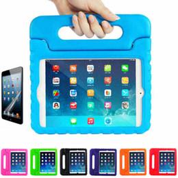 Multifonctions Kids Safe Soft EVA léger mousse Poids Shock Proof Handle Housse de protection avec support pour iPad 2/3 / iPad Air ipad Mini kids ipad case handles deals à partir de enfants ipad poignées de cas fournisseurs