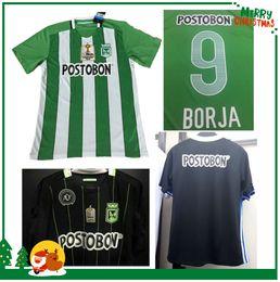 Wholesale 2016 Soccer Jersey Atletico Nacional Medellin Maillot de foot Ibarbo Diego Arias Cardenas Luis Carlos Home Football Shirts
