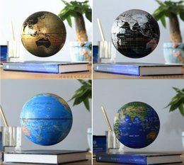Promotion flotteurs électroniques 6 pouces Creative Book électronique Lévitation magnétique Flottant Globe World Map Fête d'anniversaire Business Education Gift