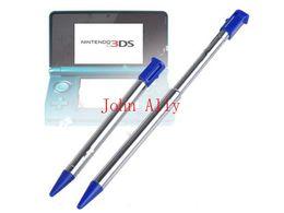 2017 3ds xl jeux Stylo stylo à bille rétractable en métal rétractable pour Nintendo 3DS XL LL Game Console promotion 3ds xl jeux