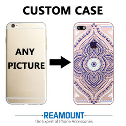 3D Relief DIY Customize Case Custom-made Company logo Photo Picture Cover Case for iphone 6s for iphone 6s plus Mobile Phone Case Cover